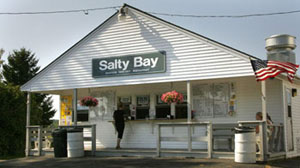 salty bay shak